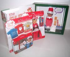 Dark Skin GIRL Elf on the Shelf Book & Plush & Clothes