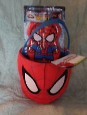 Plush SPIDER-MAN Gift Basket Embroidered Wash Mitt Puppet Body Wash Watermelon