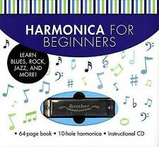 NEW Harmonica for Beginners: Learn Blues, Rock, Jazz, and More! by Music Sales