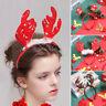 Lovely Christmas Gift Hair Hoop  Antlers/Xmas Tree  Hairband Festival Decoration
