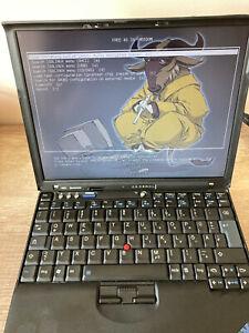 Libreboot Lenovo Thinkpad X60 160GB WD Blue HDD Intel T1300 1.66GHz 2GB RAM