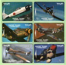 New Zealand - 1995 WWII Fighter Planes Set (6)  - NZ-D-37/42 - Mint - #140008