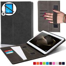 Custodie e copritastiera nera in pelle per tablet ed eBook MediaPad