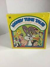 1977 Warner Brothers Looney Tunes Whitman 6 BOOKS & FINGER PUPPETS UNUSED SET