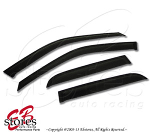 2.0mm Thickness Outside Mount Window Visor Rain Guard Jaguar X-Type 02-08 4pcs