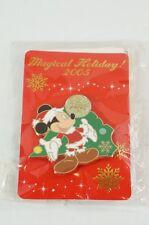 Disney Store JAPAN Pin Christmas 2005 Magical Holiday Santa Costume Mickey