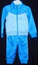 Nike 24M Hoodie Tracksuit Jacket Pant Combo Photo Blue / Silver