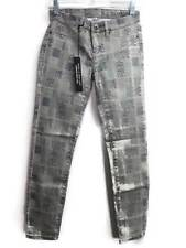 Blank NYC Womens Jeans Size 26 Gray Grey Ankle Skinny Print Stretch New