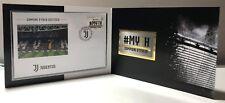 2018 Bolaffi Folder F.C. Juventus Campione 2017/18 MY7H Lamina Dorata LE 500 RSM