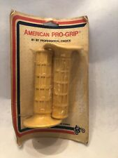 Vintage Motorcycle Bmx Handlebar Grips American Pro-Grip In Original Packing