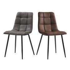 2er Set Stühle Retro Esszimmerstühle Küchenstuhl Büro Konferenzstuhl Essstühle