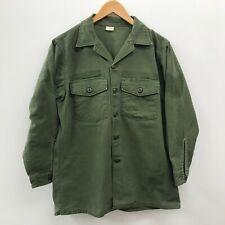 Vintage OG107 / Fatigue Shirt, Size 16 1/2 x 32, Men's, US Army, 1970,   n-90