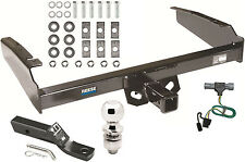 1987-1996 FORD F150 F250 F350 COMPLETE TRAILER HITCH PACKAGE W/ WIRING KIT REESE