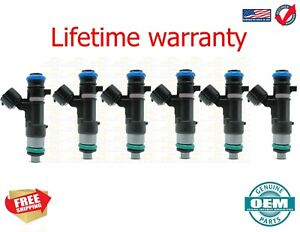 OEM Genuine Bosch Set of 6 Fuel Injectors for Nissan Armada Titan 5.6 0280158007