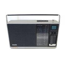 PHILIPS VINTAGE 70'S RETRO TRANSISTOR RADIO 90RL 650/ 15R WORKS PERFECTLY.