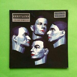 KRAFTWERK LP Box ELECTRIC Cafe EMI English Version 1986 VINYL Schallplatte 80 NM