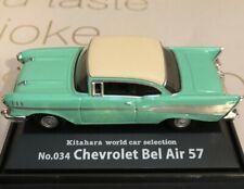 """Kitahara World Car Selection 1/72 Chevrolet Bel Air 57 """"0114"""