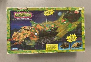 """Vintage TMNT 1992 """"MUTA-CARRIER"""" Teenage Mutant Ninja Turtles Vehicle- RARE"""