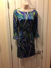 ECI Size 6 Silk Dress