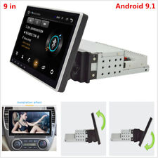 9in 1Din Android 9.1 Quad Core GPS Nav Car Stereo Radio Bluetooth Player 16G+1G
