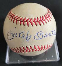 Upper Deck MICKEY MANTLE Signed Bobby Brown Rawlings OAL Baseball w/ Box UDA COA