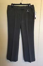 NEW $44 MISSES 12P ~ COUNTERPARTS HEATHER EVERGREEN PANTS ~ SLIMS YOUR TUMMY