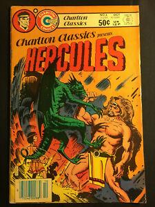 CHARLTON CLASSICS 4 PRESENTS HERCULES V 1 SAM GLANZMAN COMICS VINTAGE