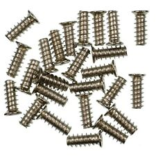 Pack of 25 13mm Silver PC Fan Screws - KB5 Standard Computer Case Fixing Screw