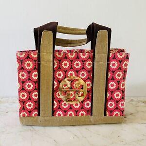 TORY BURCH Floral Pattern Print Tote Bag