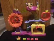Littlest Pet Shop Hamster Playground with Hamster #1888, Mouse #1889 and Items!
