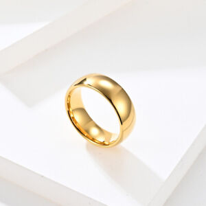 Newest item 24K Gold Plated Tungsten Wedding Ring