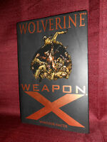 Wolverine Weapon X Hardcover Marvel Premiere Edition Windsor Smith HC