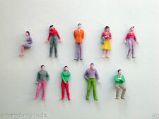 100x Building Model Trains 1:50 Scale Painted Figures O