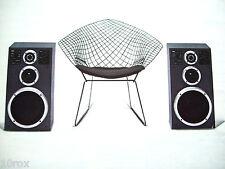NEW Three Way SABA GmbH Speakers Hi Fi Monitors AM130 - 4 ohms Made in Germany