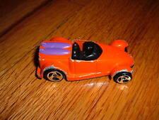 HOT WHEELS Orange Convertible Mcd Diecast Toy Car