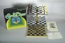 Space Chess Pacific Game Company 3-D 4th Dimension VTG 1970 USA Pleasantime
