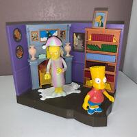 Playmates Simpsons World of Springfield Burns Manor 2 Figures Interactive