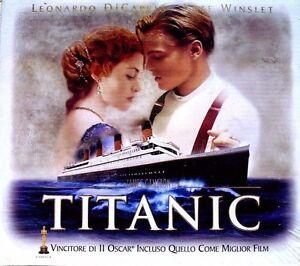 TITANIC BOX cofanetto VHS SPECIALE collezione 8010312009280 + 8 FOTO+FOTOGRAMMI