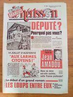 LE HERISSON n°1891 - 1981 - Député? Pourquoi pas vous?