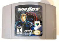 Winback Covert Operations - Nintendo 64 N64 Game - Tested - Working - Authentic!