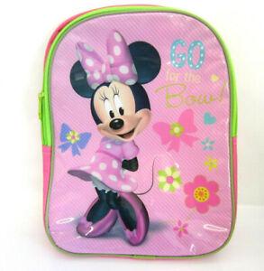 Disney Minnie Maus Kinder Kindergarten / Schule Rucksack Kr)
