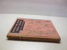 When We Were Very Young by A.A. Milne vintage 1950 E.P. Dutton hardcover