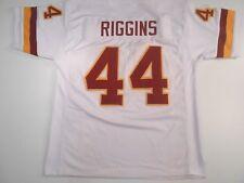 UNSIGNED CUSTOM Sewn Stitched John Riggins White Jersey - M, L, XL, 2XL