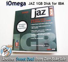 Iomega JAZ 1GB Disk Formatted for IBM Compatibles Jaz Drive New Sealed