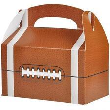 12 FOOTBALL TREAT BOXES Super Bowl Birthday Loot Goody Bag #AA46 FREE SHIPPING