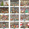 YG Christmas Decoration Glass Paste Color Window Glass Background Wall Stickers