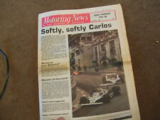 Motoring News 22 May 1980 Monaco GP Manx Stages Rally Nurburgring Porsche Test