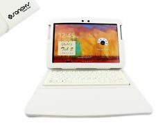 "Bluetooth Keyboard Leather Case For Samsung Galaxy 10.1"" Tab 2 P7510 P7500 P"