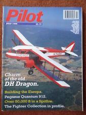 PILOT 7/1998 DE HAVILLAND DH84 DRAGON ULM PEGASUS QUANTUM 912 STAMPE SCOTLAND
