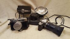Vintage Camera Lot Pentax, Yashica, Bell & Howell & Movie Light